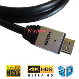 2017 cable del soporte 3D HDMI 2.0/1.4 HDMI de la alta calidad 4k*2k/1080P/2160p