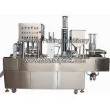 Machine remplissante de cachetage de yaourt automatique