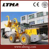 Ltma는 로그를 가진 12 톤 사탕수수 로더 격투한다