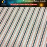 敏速な商品、ファブリックを並べるポリエステルファブリック縞ファブリック(S138.141)