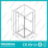 正方形のアルミニウムハードウェア(SE911C)が付いているシャワーによって蝶番を付けられるスクリーン