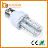 luz energy-saving interna do milho do diodo emissor de luz da lâmpada da ampola de 3u 5W E27 B22