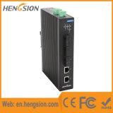 5 Megabites Tx e interruptor industrial de Ethernet de los accesos de Fx
