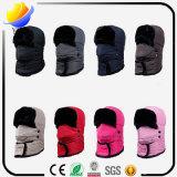 Reizende nette Wollen wärmen Beanie-Hut mit Ohr-Abdeckstreifen-Schutzkappe