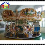 12のシートの遊園地の幸せな乗車のRoudaboutの馬のコンベヤー
