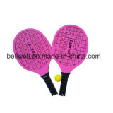 Raquetas de madera de la playa del tenis de la raqueta con 46 orificios para la promoción