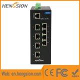 Industrieller gehandhabter Port8 netzwerk-Schalter