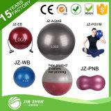 """No5-3 22"""" 55cm La mitad del amaestrador del balance de la bola, la bola Bosu con vendas de la resistencia y la bomba"""