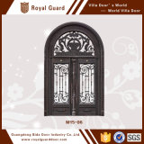 Aluminio europeo de la puerta de entrada del chalet de la puerta de la técnica del grabado de la puerta 3D del estilo de la alta calidad