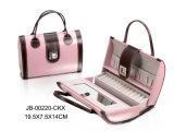 Коробка ювелирных изделий кожи конструкции способа формы Hangbag