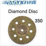 Диск диаманта высокого качества 350 зубоврачебный