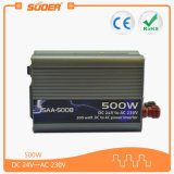 CC calda 24V di vendita 500W di Suoer all'invertitore di potere di CA 220V (SAA-500B)