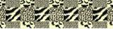 la pelle Pigment&Disperse del leopardo 100%Polyester ha stampato il tessuto per l'insieme dell'assestamento