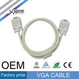 Sipuの工場価格のコンピュータのビデオは高品質VGAケーブルをケーブルで通信する