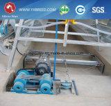 De gegalvaniseerde Kooi van de Laag van de Batterij van het Landbouwbedrijf van het Fokken van de Kip met het Automatische Voeden