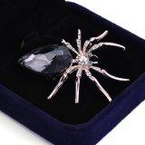 Broche de la joyería de la manera de la araña del Rhinestone