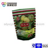 Größe kundenspezifischer Fastfood- Beutel mit Reißverschluss für Dörrobst/Muttern