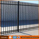 安い家によって電流を通される錬鉄の防御フェンス