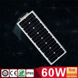 60W All in One Solar Integrated Power Street Light