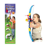 O esporte ajustado do tiro ao arco plástico do brinquedo do menino brinca (H0635186)