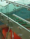 층계를 위한 옆 마운트 유리제 방책