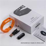 De slimme Gezonde Armband van de Manchet Bluetooth van de Armband IP67 Waterdichte voor Androïde en Ios