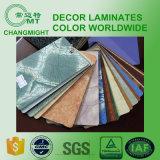 Plancher de HDF/feuille en stratifié de plancher/formica/stratifié décoratif