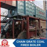 Caldaia a vapore infornata carbone orizzontale industriale del Doppio-Timpano di Szl35-2.5MPa