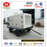 Передвижной генератор трейлера 150kVA/120kw Cummins портативный молчком тепловозный