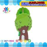 Baum-hölzerne Spielwaren Zahnstange, Kind-pädagogischer Spielzeug-Schrank