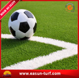 축구를 위한 고품질 인공적인 녹색 잔디