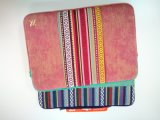 Moderno PU couro à prova de choque Laptop Tablet Computer Sleeve Bag
