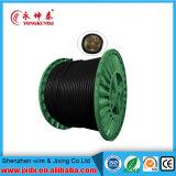 Cable de transmisión aislado PVC de cobre de /Sheath de la base de la base 0.6/1kv de Yjv 3+1