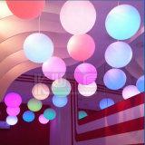 Meubles extérieurs Waterproof LED Hang Ball avec télécommande WiFi