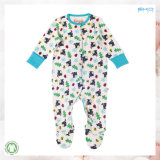 着物様式の赤ん坊は高品質の幼児のロンパースに着せる
