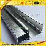 Perfil de alumínio escovado OEM da cozinha para o gabinete de cozinha