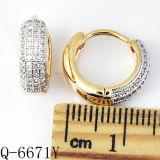 Fabbrica Hotsale degli orecchini dell'argento sterlina dei monili 925 di modo