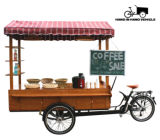 متحرّكة [إيس كرم] [تريك] متحرّكة قهوة عربة قهوة درّاجة لأنّ [إسبرسّو]