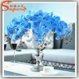 Flores da seda artificial da decoração do casamento da alta qualidade e do plástico