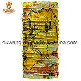 習慣によって印刷される多機能の作られたCheap 卸し売りバンダナ