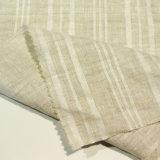 100% Tecido Jacquard de Linho Tingido Fibra Têxtil Tecido Tecido para Camisola Saia Vestido Sofá