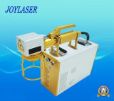 Máquina portable de la marca del laser de la fibra de la venta de la tapa de la fábrica