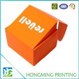 Caixa de embalagem de papelão ondulado dobrável personalizada