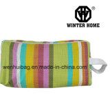 La mode barre la couleur avec le sac de produit de beauté de polyester