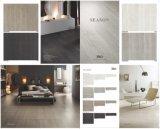 Telha branca vitrificada 600X600mm da porcelana do cimento do projeto madeira italiana nova (SN05)
