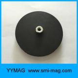 Überzogene Neodym-Potenziometer-Gummimagneten auf Auto-Dach