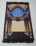 Couvre-tapis de prière musulman matériel mou d'impression neuve de modèle