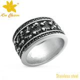 標準的な中国のステンレス鋼の切り分けられたリングの宝石類