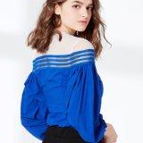 Qualitäts-Ineinander greifen mit Silk Chiffon- Bluse