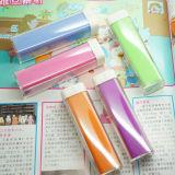 Côté mobile de pouvoir de Li-ion portatif de mode du cadeau 2600mAh de promotion